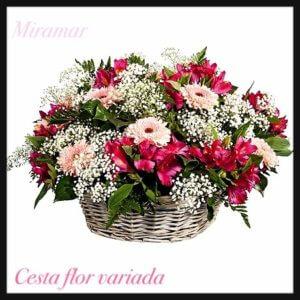 Cesta flor variada Ce. 14